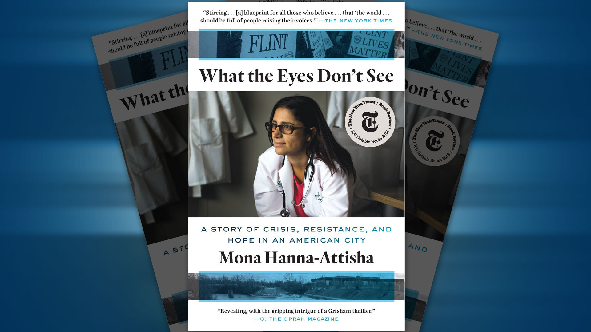The 2021-22 First Year Book author, Dr. Mona Hanna-Attisha, will deliver a virtual campus speech on Oct. 14.  Photo courtesy of One World