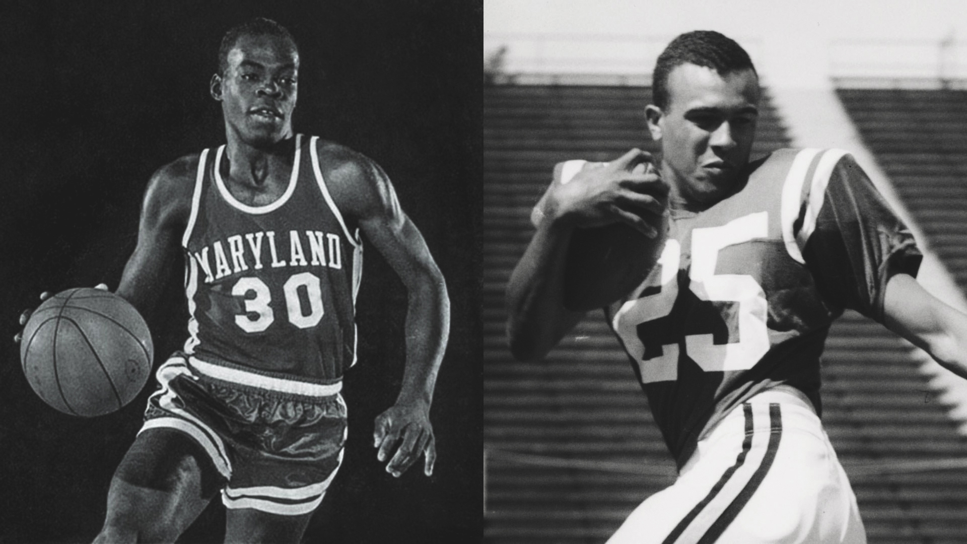 Jones-Hill House Will Be Named for Terps Who Broke Basketball and Football Color Barriers at UMD and in the ACC